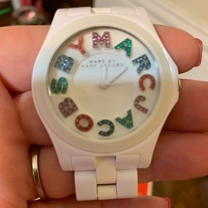 Marc Jacobs Watch Sparkly & Colorful
